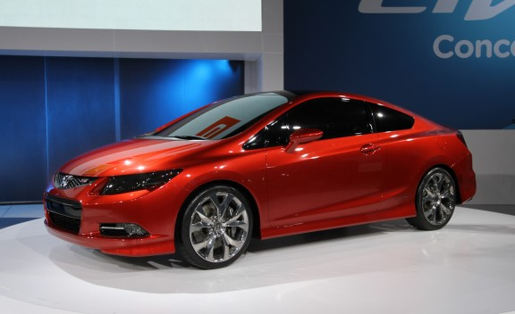 new modified cars 2012 honda civic si coupe and civic sedan concepts. Black Bedroom Furniture Sets. Home Design Ideas