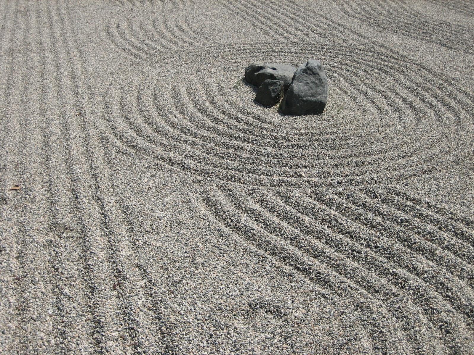 Zen Garden Sand Wallpaper