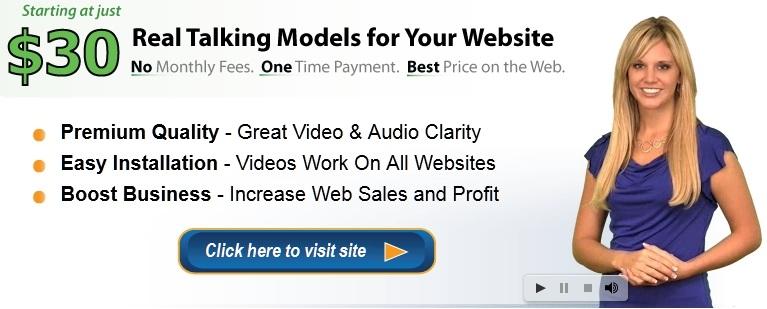 Talking websites
