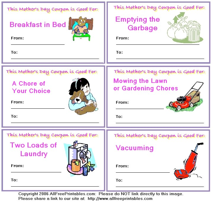 Mother's Day Coloring Pages, Coupons and Activities : Let's Celebrate!