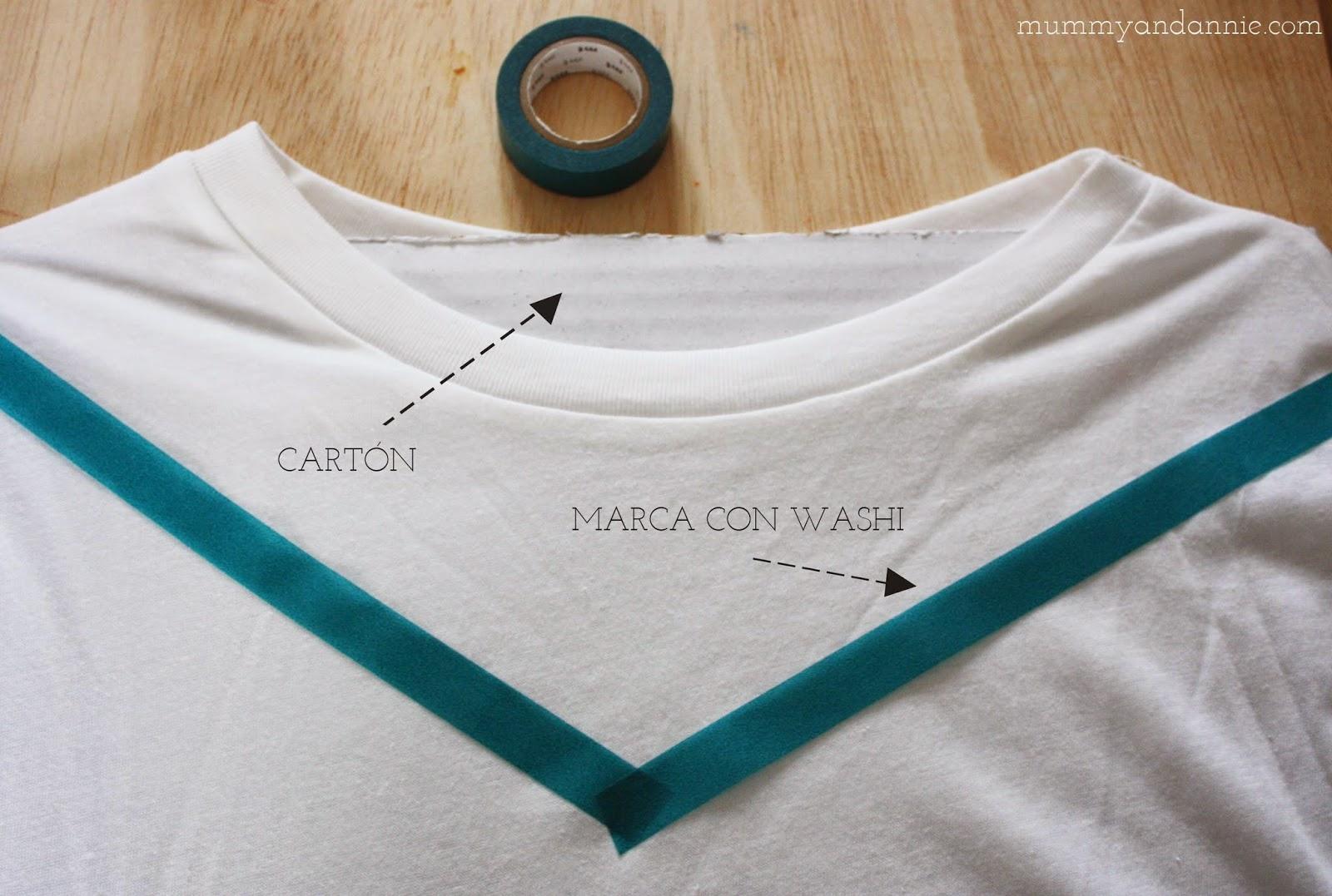 Diy estampado camiseta besos handbox craft lovers comunidad diy tutoriales diy kits diy - Estampar camisetas en casa ...