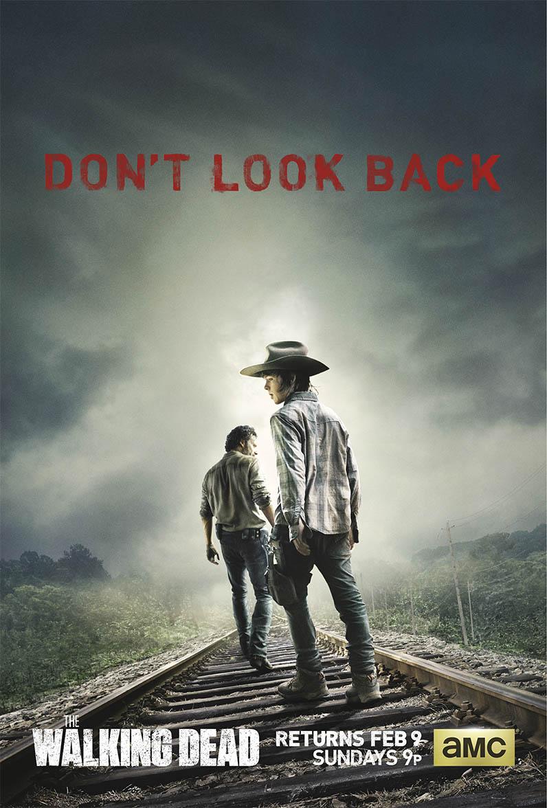 Póster del regreso de The Walking Dead - Cuarta Temporada (2014)