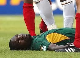fallecio jugador camerunes
