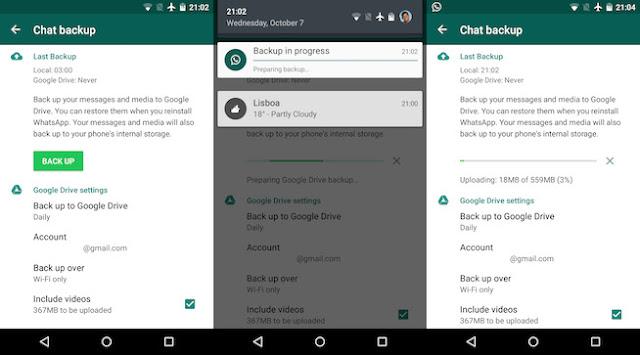 How to Backup WhatsApp Chats, Media using Google Drive