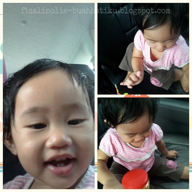 Gelagat bayi dalam kereta
