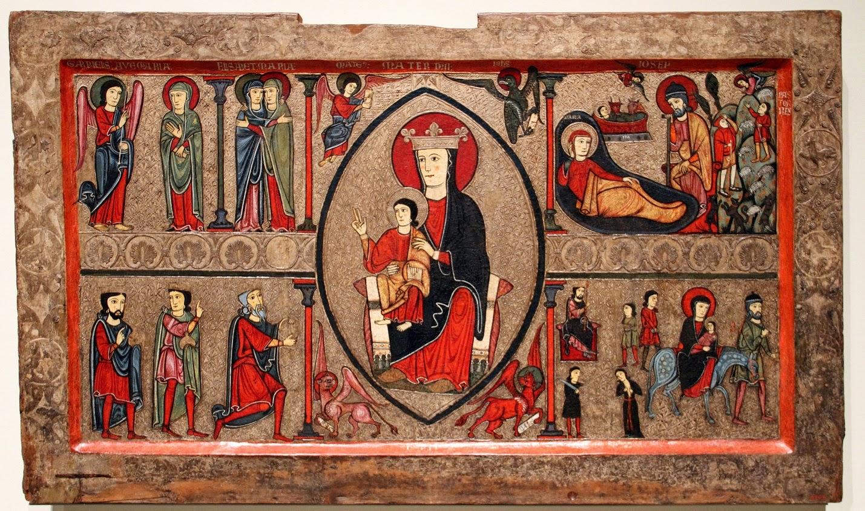 L 39 Art Roman Passionn Ment Splendeurs Des Bois Peints 2