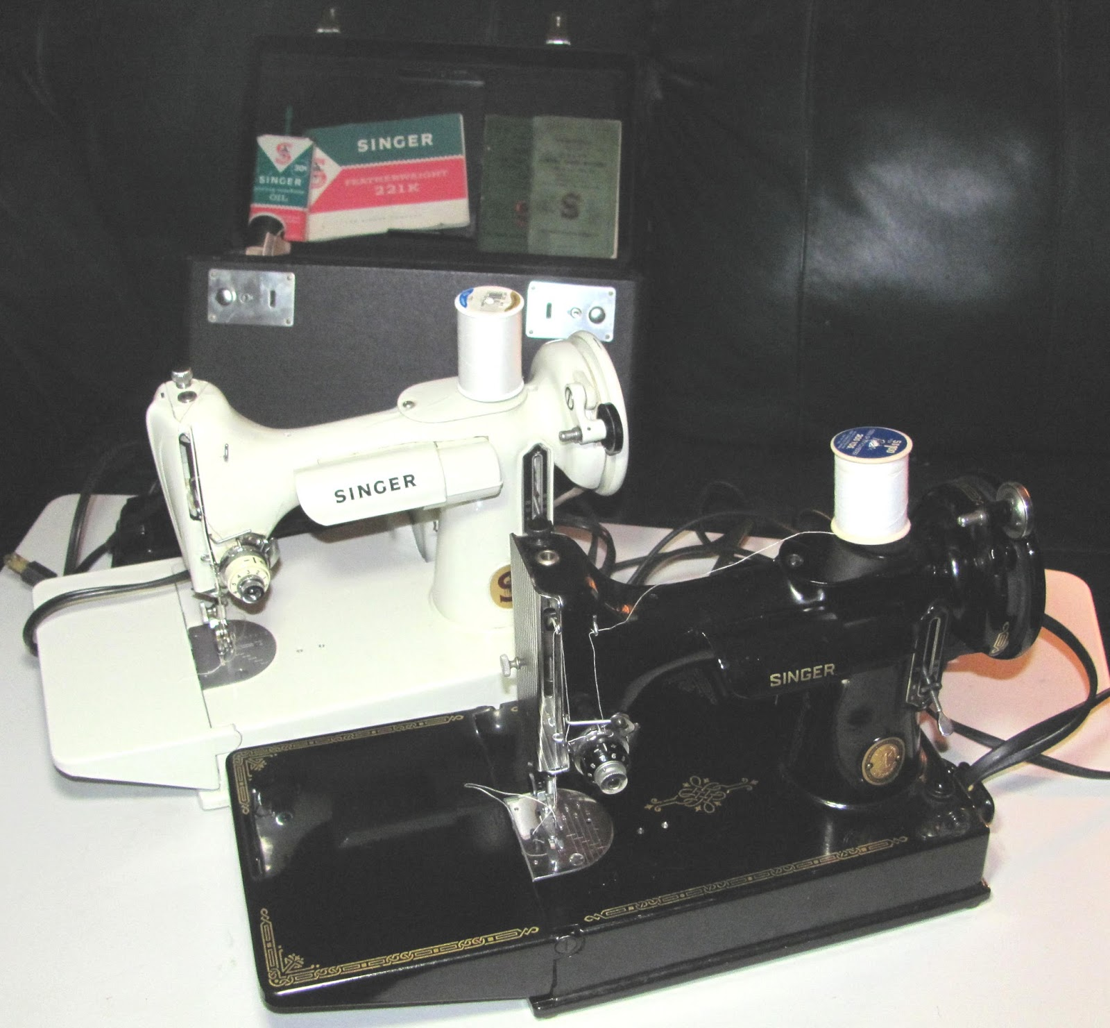 Elaines Creative Works 8 1 13 9 Singer 221 K Sewing Machine Threading Diagram Featherweight Machines