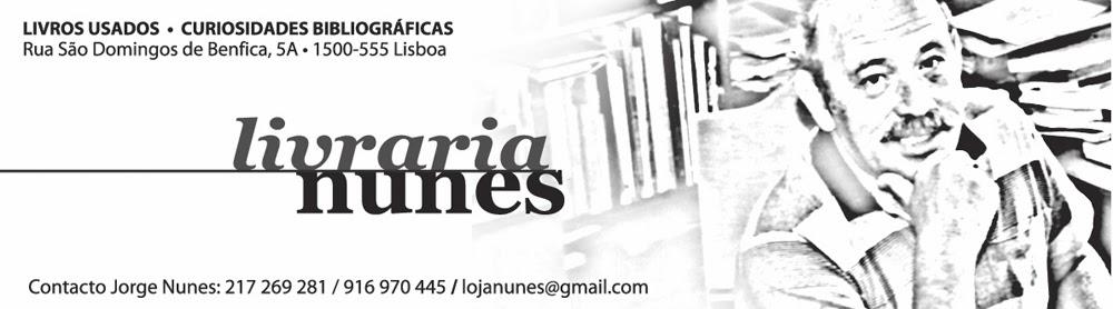 Livraria Nunes ( Alfarrabista )