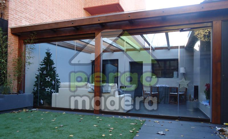 Pergomadera estructuras de madera porches de madera - Madera para porches ...