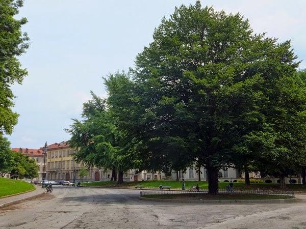 Turin Italie Via Po giardini cavour