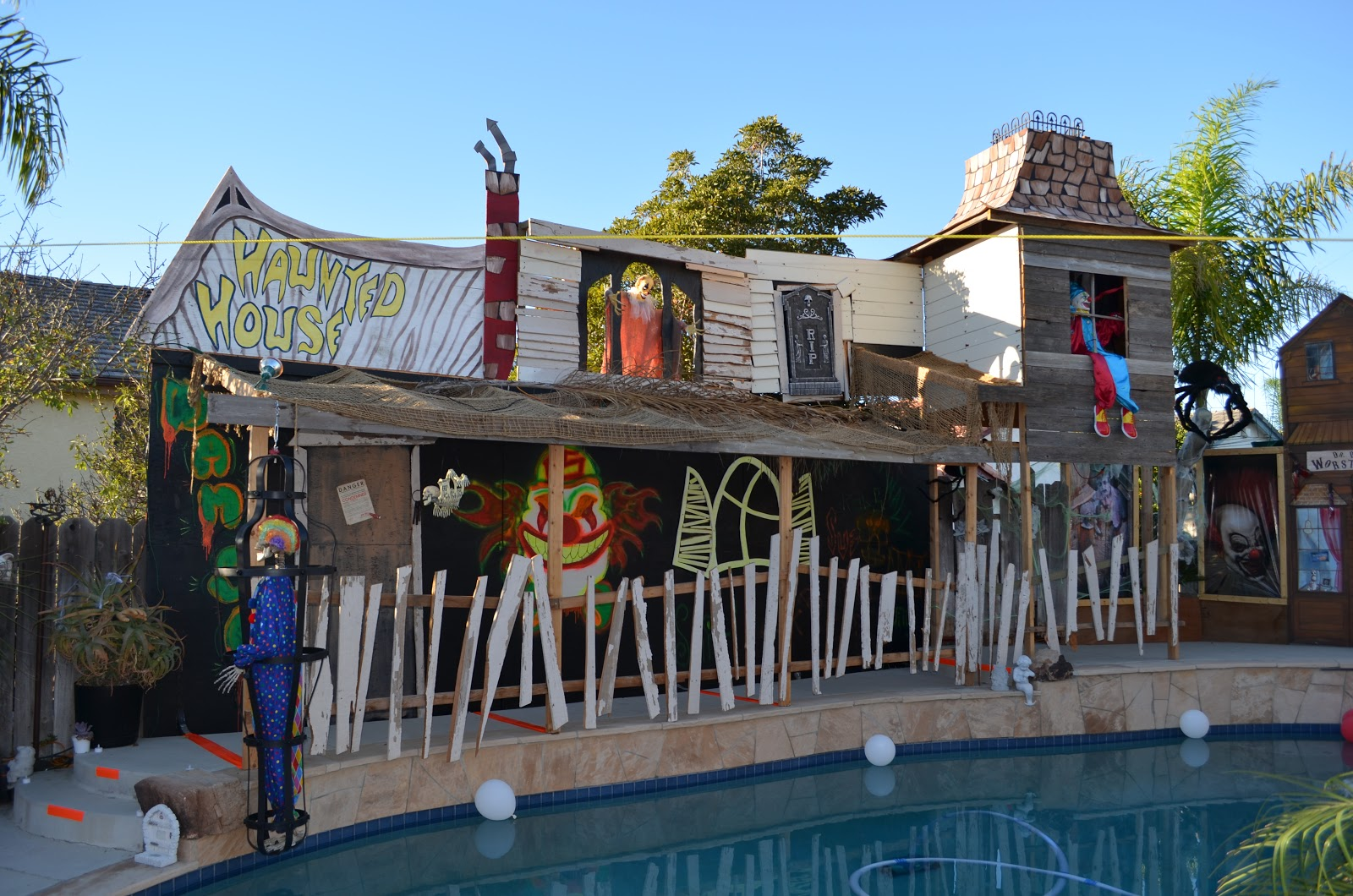 Backyard Haunted House Ideas : Haunted Carnival Ideas Our backyard haunted house