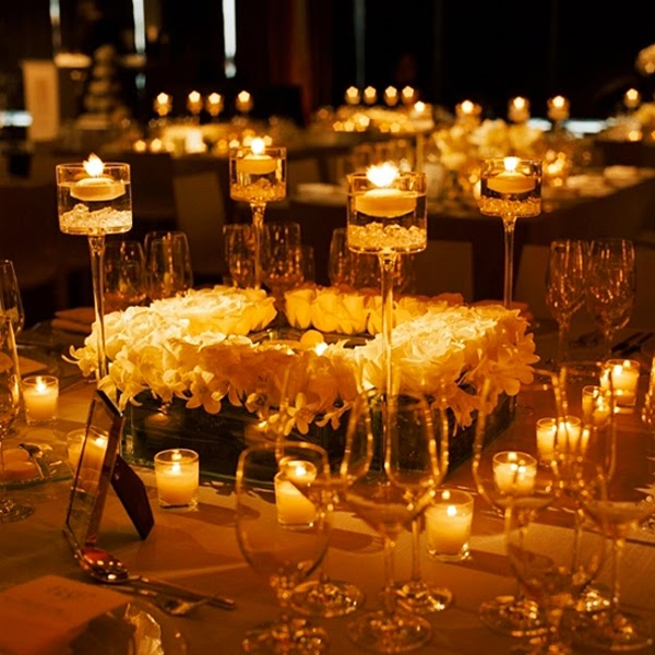 Fall wedding centerpieces decorating ideas wedding centerpieces fall wedding centerpieces with candles junglespirit Gallery
