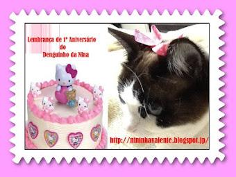 Aniversário do Blog Denguinho da Nina
