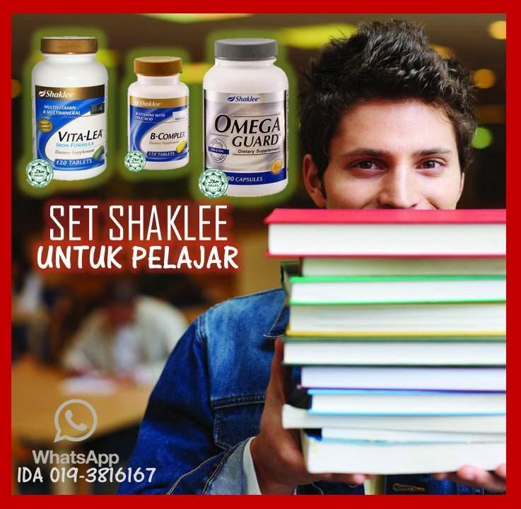 Pelajar Pintar | Shaklee | www.ummudd80.blogspot.com