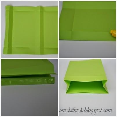 kağıt paket yapımı