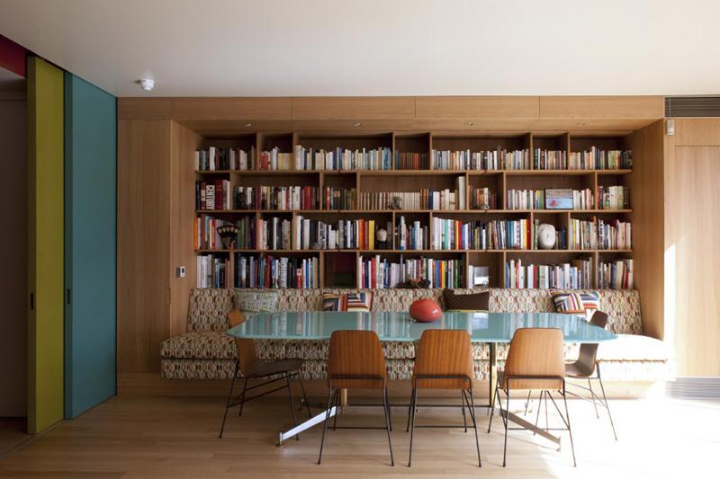 Banco Em Sala De Jantar ~ Oficina de Arquitetura Banco na sala de jantar