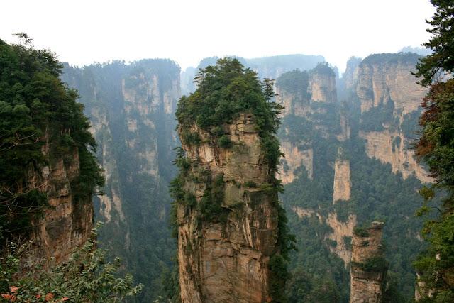 Parque Nacional de Zhangjiajie. Montañas de Avatar. China