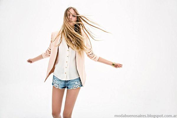 Moda primavera verano 2015 Inédita ropa.