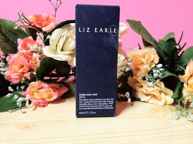 LizEarle's Sheer Skin Tint SPF15 Foundation/Moisturizer
