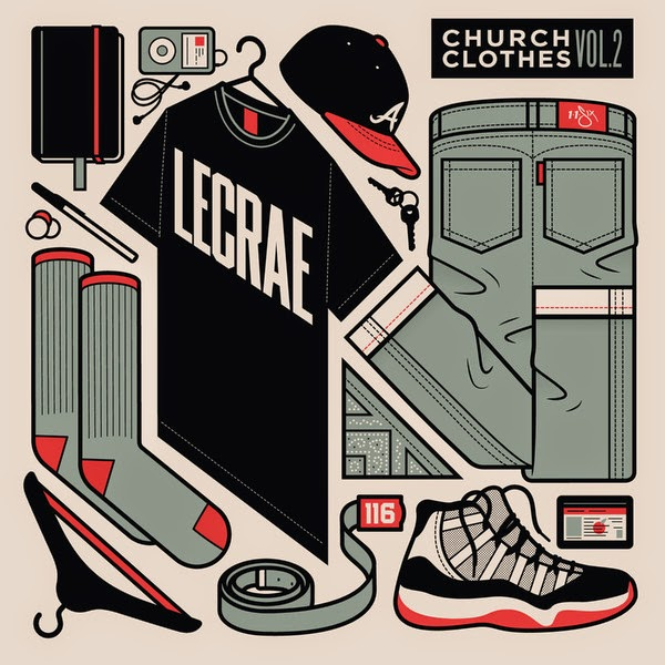 Lecrae - Church Clothes, Vol. 2 Cover