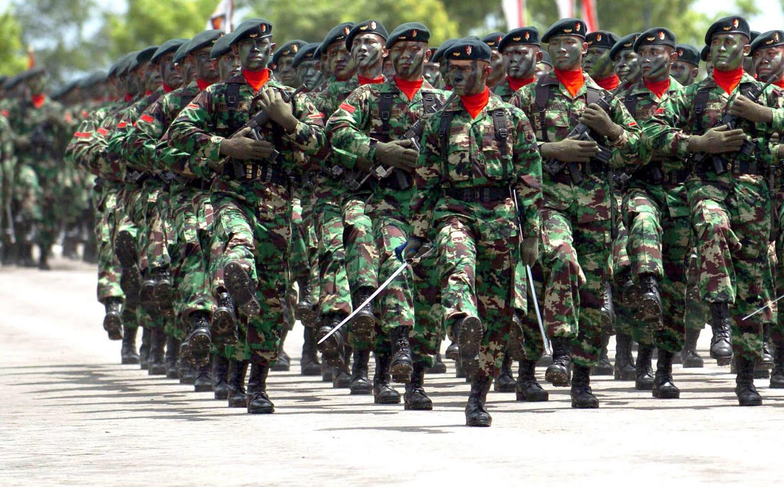the gothic of tx: militer indonesia