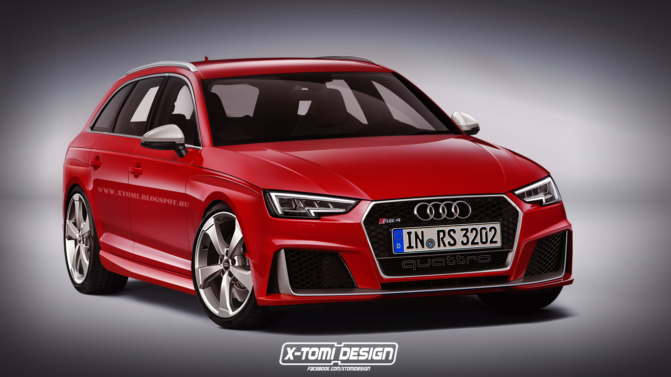 Audi S Next Rs4 Might Get A Lag Free Electric Turbo 3 0