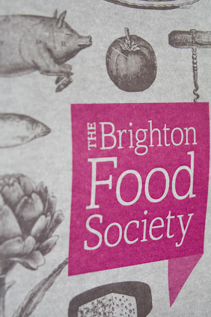 Brighton Food Society poster