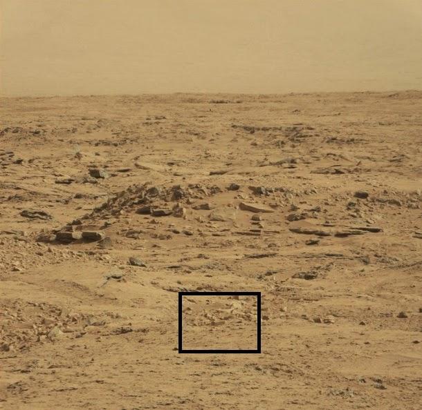 Curiosity encontra Drácula em Marte?