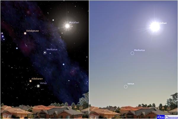 Tanpa Atmosfer, Bintang-bintang Bisa Diamati Siang Hari