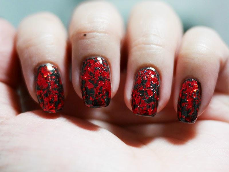 Plisherrific: Blood Splatter - Color Styles 36, Kleancolor Metallic ...