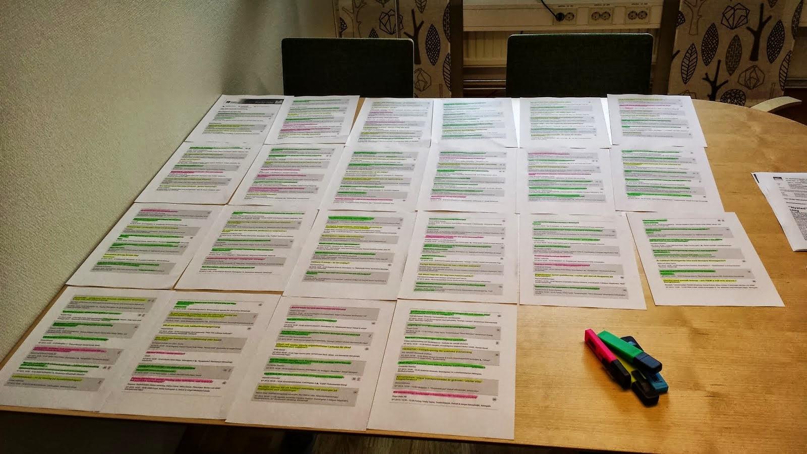 Mitt schema för Almedalen 2013