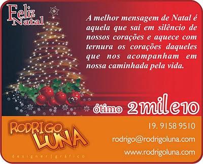 Mensagens de Natal para Clientes