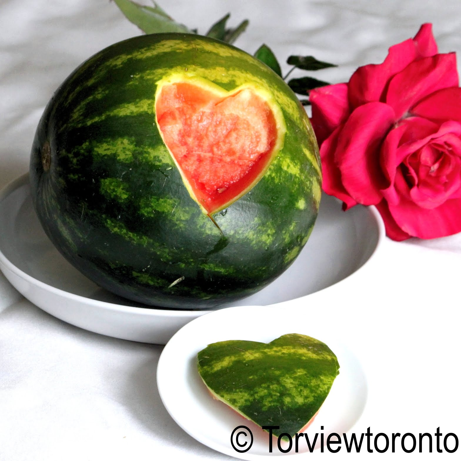 Torviewtoronto watermelon carving
