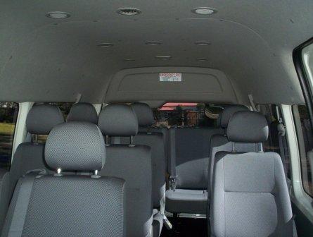 Nọi thất Xe du lịch Toyota Hiace Commuter 16 chỗ