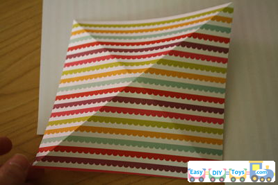 easy Handmade paper pinwheel