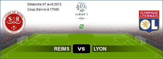 ... Match En Direct Reims vs Lyon sur aljazeera sport Le 07-04-2013