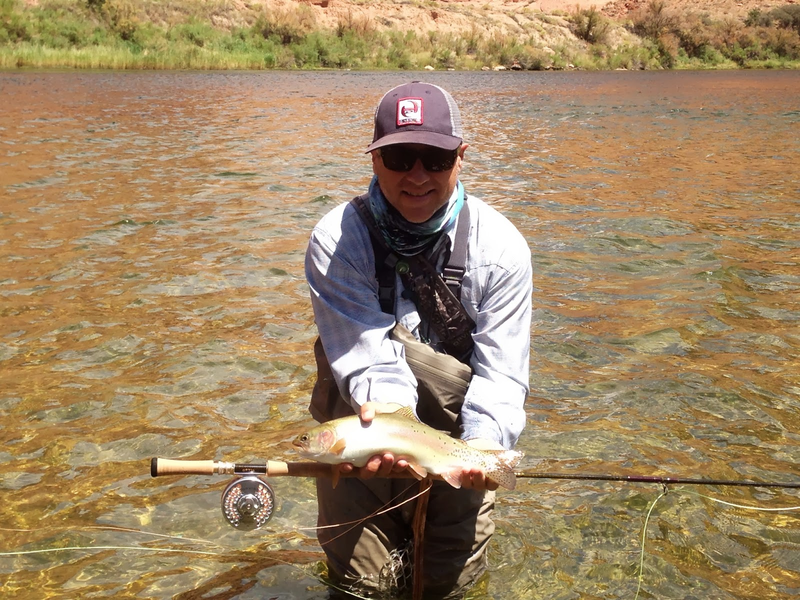 Lees ferry fishing report lees ferry az for Orvis fishing report