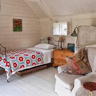 Vintage rustic room