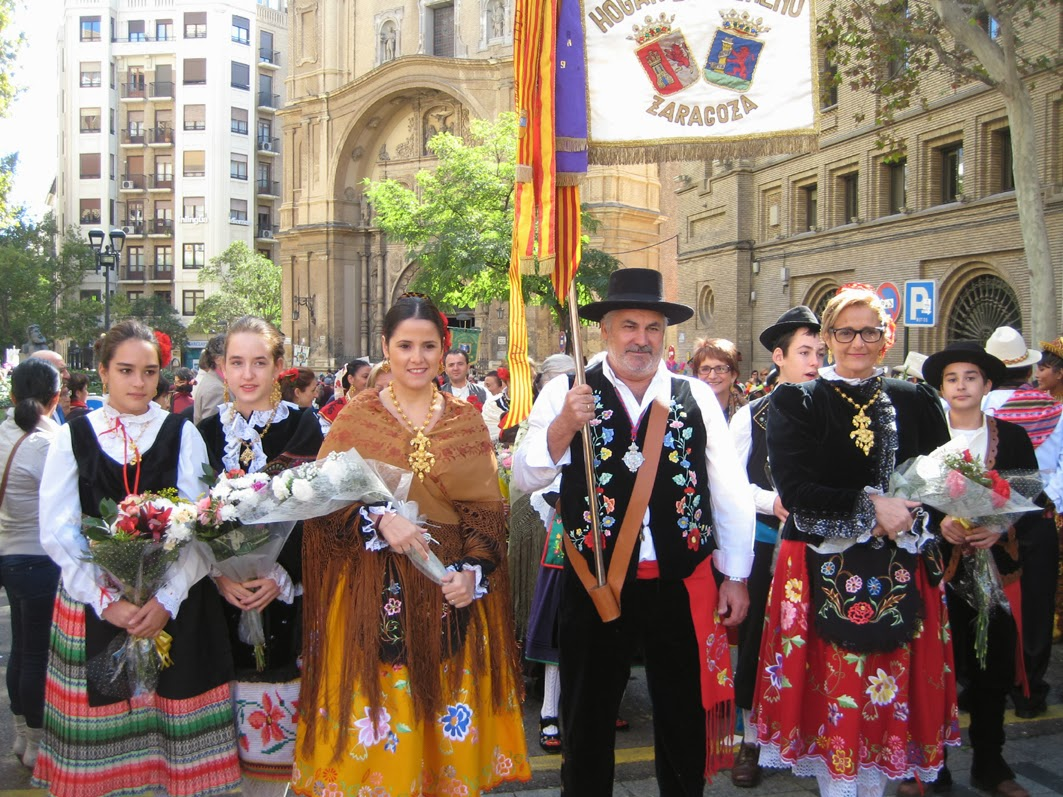 Primo blog fotográfico - Fotos Ofrenda De Flores Zaragoza 2013