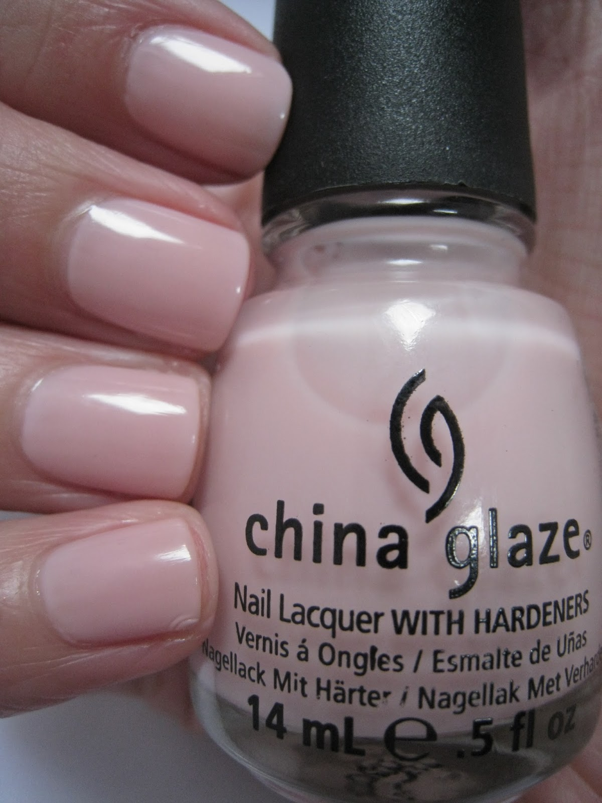 China Glaze Nail Polish Color Swatches - To Bend Light