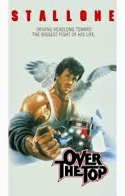 Over the top - Starring Sylvester Stallone, Robert Loggia, Susan Blakely and Rick Zumwalt - Released in 1987