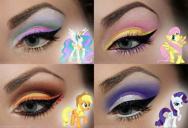 maquillajes de unicornio