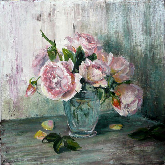 a nos pinceaux les roses du jardin d fi n 14 du 16 mai au 15 juin 2011. Black Bedroom Furniture Sets. Home Design Ideas