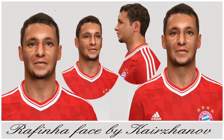 PES 2014 Rafinha Face by Kairzhanov