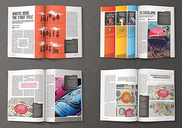 magazine article format template .