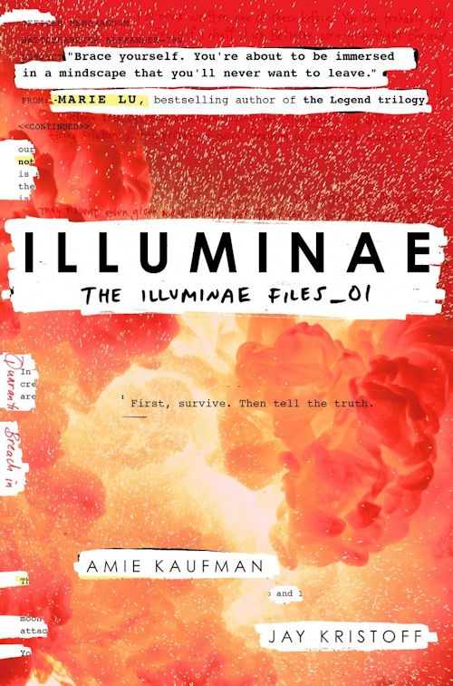 The qwillery whats up for the debut author challenge authors jay kristoff and amie kaufman the illuminae files 1 knopf books for young readers october 20 2015 hardcover and ebook 608 pages fandeluxe Images