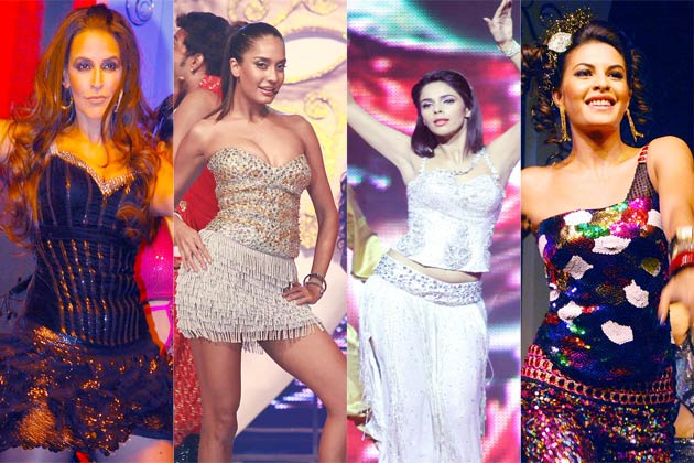 1 -  Bollywood Babes Heat Up New Years' Eve