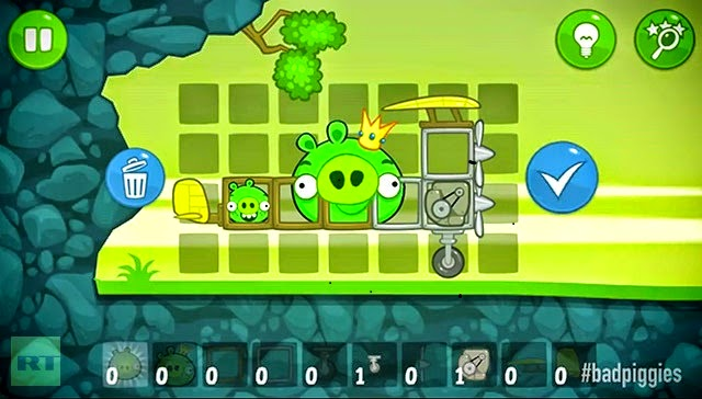 bad piggies game online