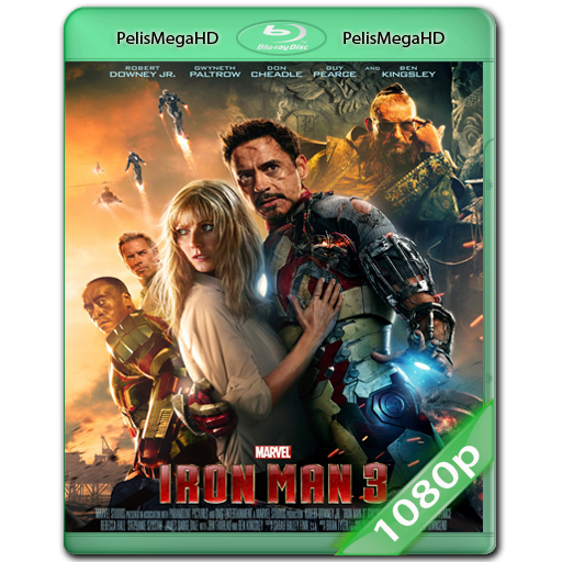 Iron Man 3 (2013) WEB-DL 1080P HD MKV INGLÉS SUB.