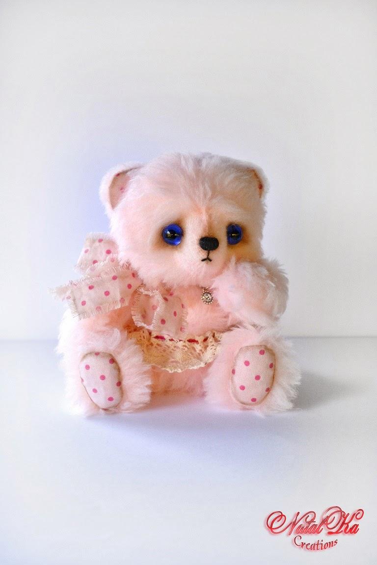Авторский мишка-тедди. Artist teddy bear